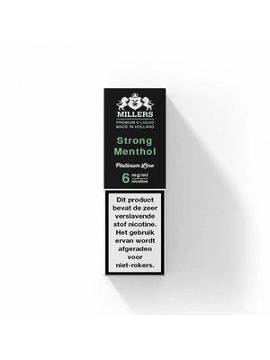 Millers platinum line Millers strong menthol