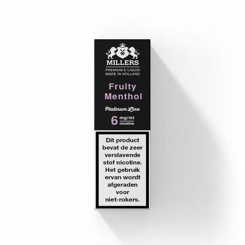 Millers platinum line Millers fruity menthol