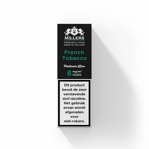 Millers platinum line Millers French Tobacco