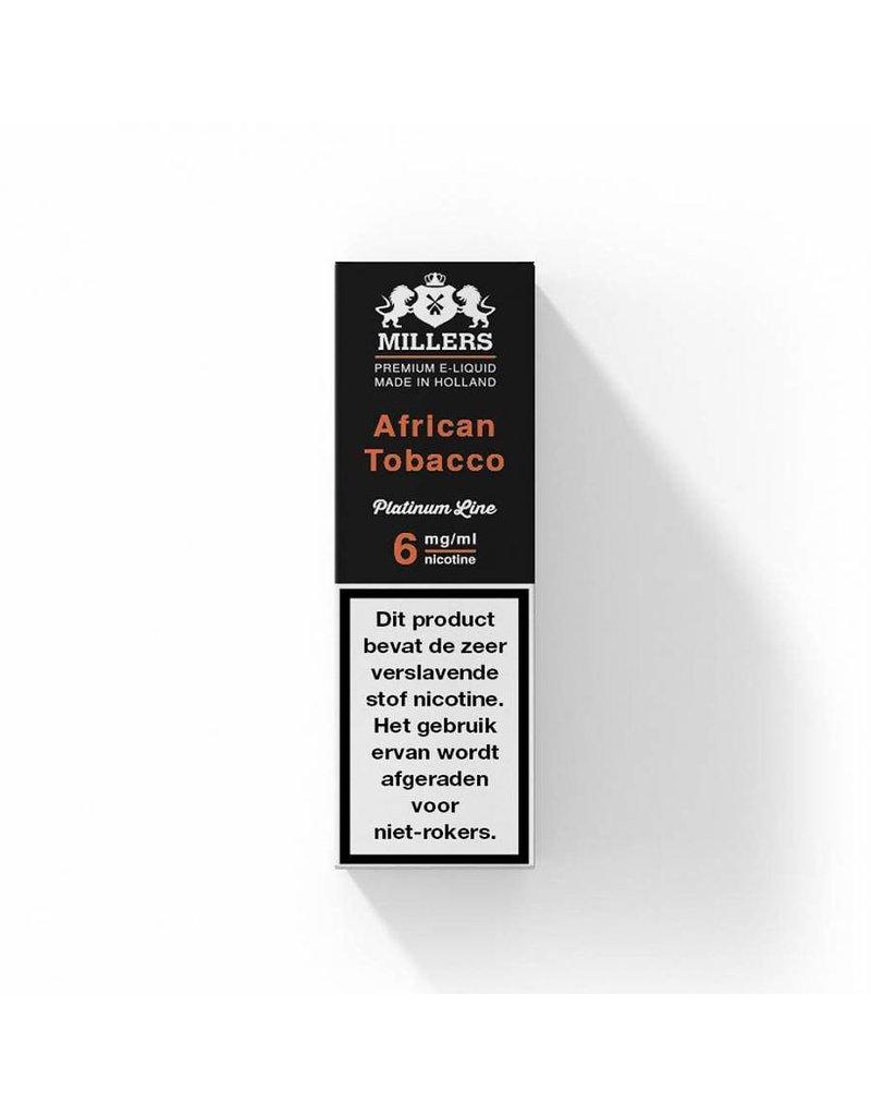 Millers platinum line Millers African tobacco
