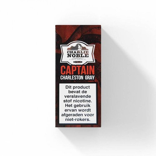 charlie noble Charlie noble captain Charleston Gray