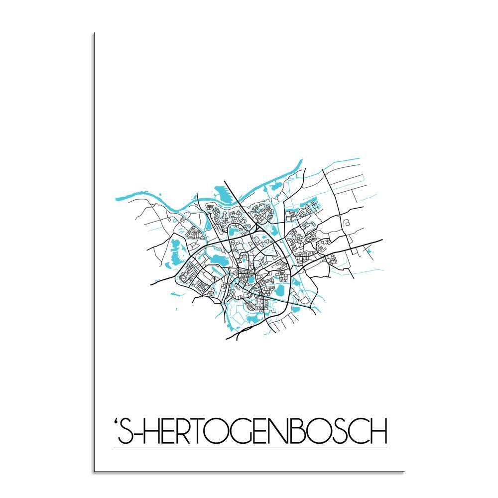 shertogenbosch stadskaart plattegrond interieur