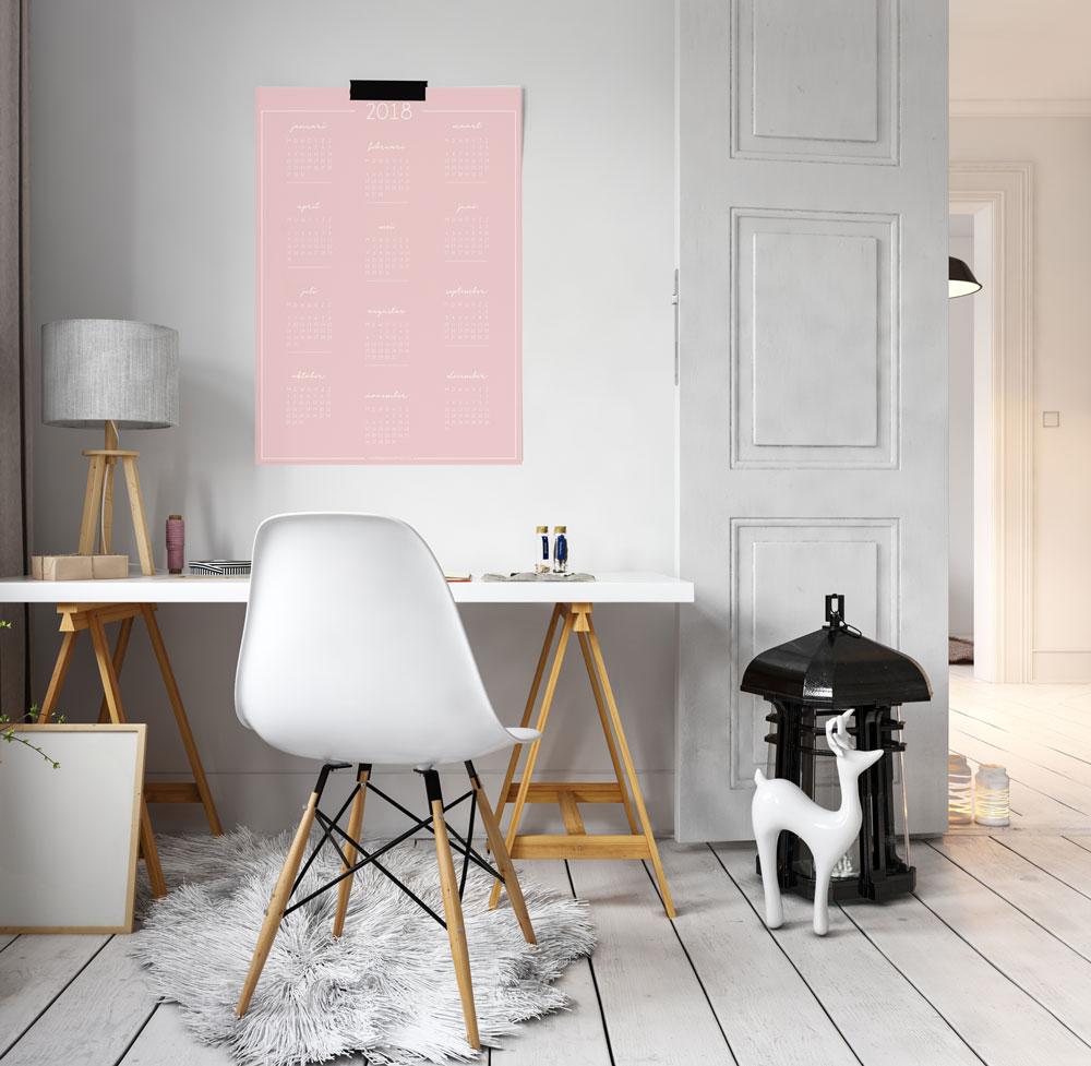 kalender-poster-roze
