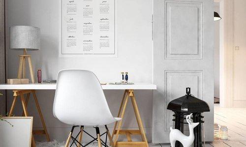 Kalender poster: de leukste wanddecoratie voor bij je werkplek