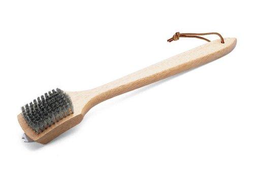 Weber Grill Brush - 45cm Bamboo Handle