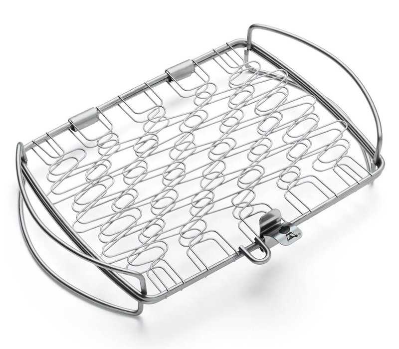 GRILLING BASKET - LARGE, STAINLESS STEEL