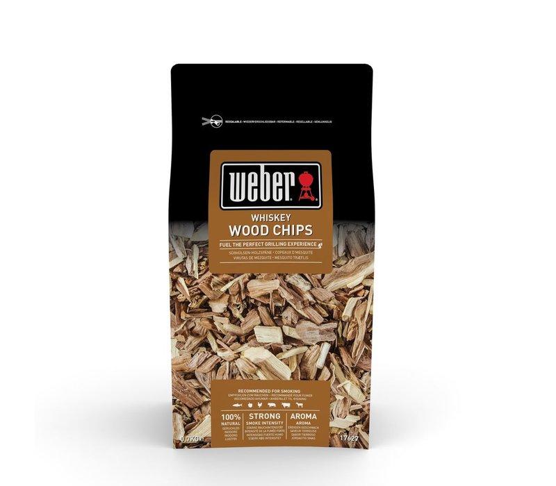 WHISKEY OAK WOOD CHIPS - 0.7KG