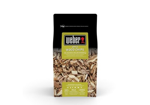 Weber APPLE WOOD CHIPS - 0.7KG