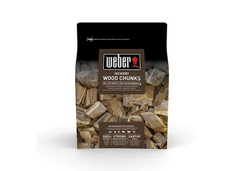 Weber HICKORY WOOD CHUNKS - 1.5KG