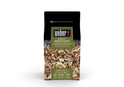 Weber MESQUITE WOOD CHIPS - 0.7KG