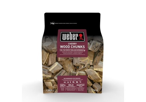 Garden Centre Weber® Cherry Wood Chunks