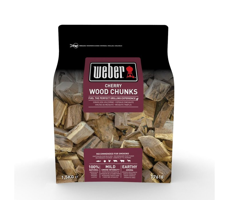Weber® Cherry Wood Chunks