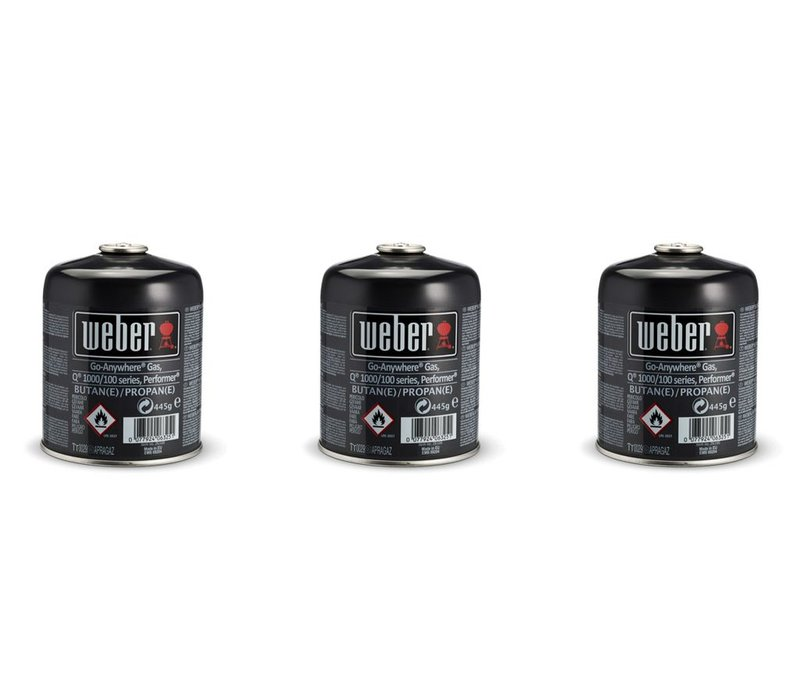 Gas Canister Triple Pack