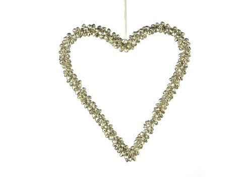 Homestore HEART with BELLS Large