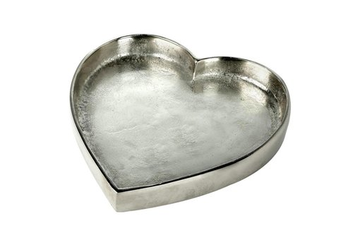 Homestore TRAY HEART in Silver