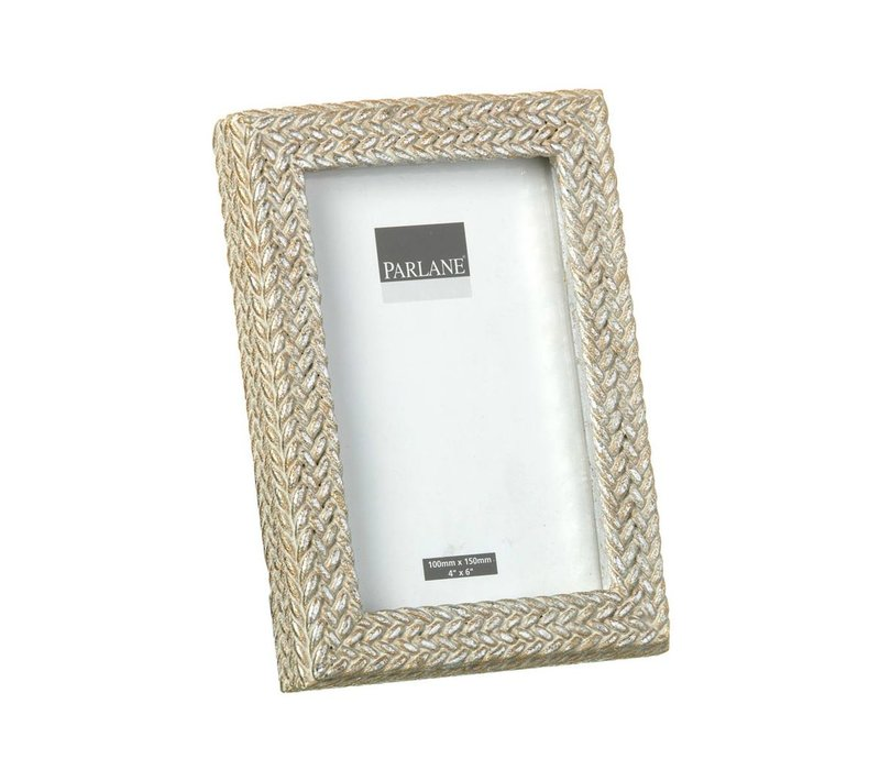 PHOTO FRAME WEAVE H185X130mm