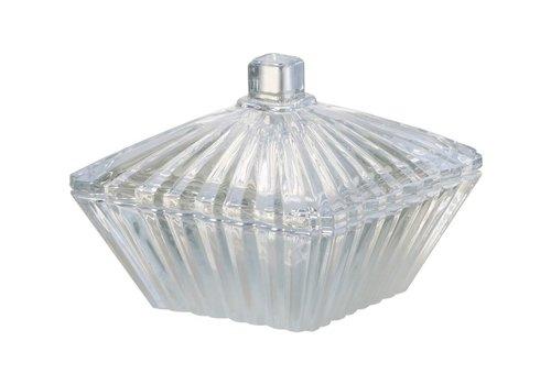 Homestore TRINKET BOX SAVOY GLASS