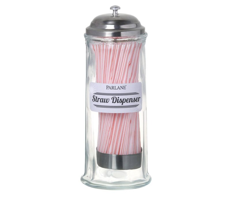 STRAW DISPENSER with 100 STRAWS