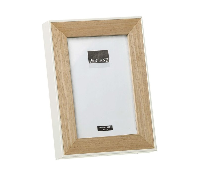 PHOTO FRAME OUNDLE H195X145mm - White
