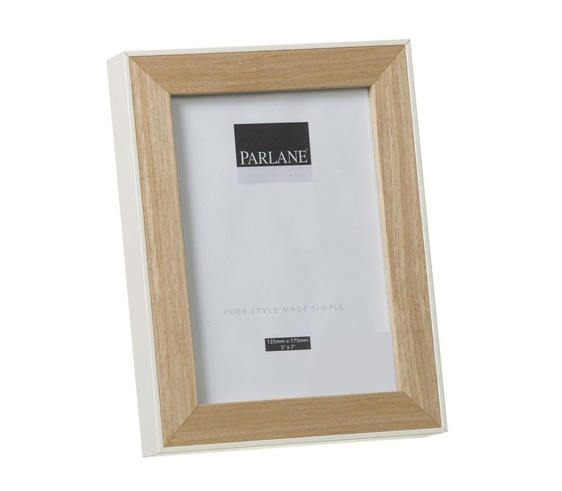 PHOTO FRAME OUNDLE H220X170mm - White