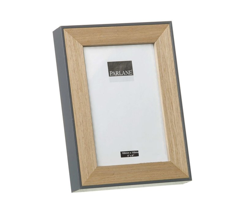 PHOTO FRAME OUNDLE H195X145mm - Grey