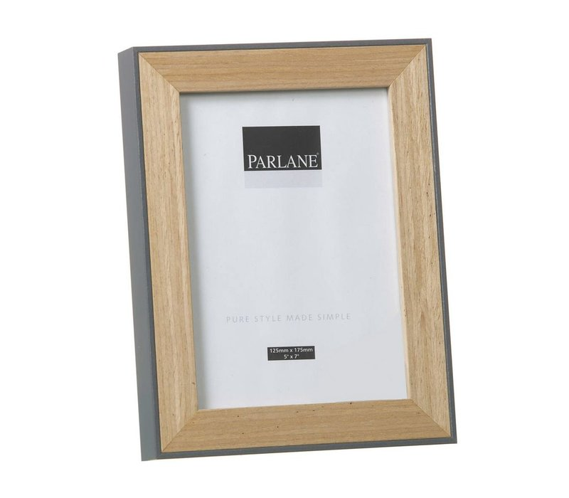 PHOTO FRAME OUNDLE H220X170mm- Grey
