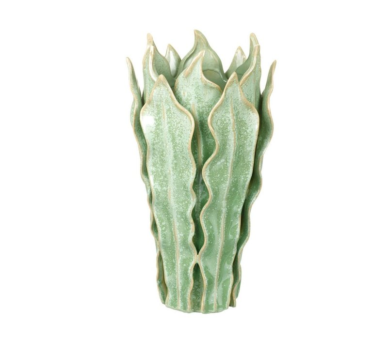 VASE VIPER in GREEN - Medium