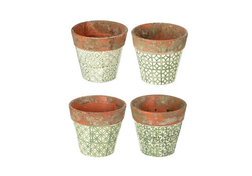 Homestore PLANTER SOWERBY in GREEN 4 Assorted - Small