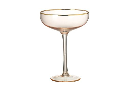 Homestore MARTINI GLASS SYLVIE - BLUSH PINK