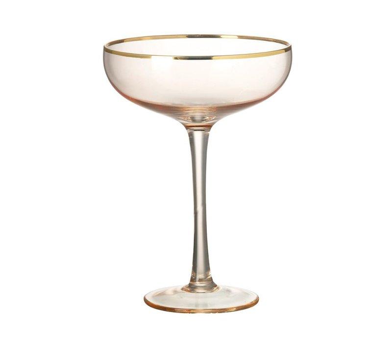 MARTINI GLASS SYLVIE - BLUSH PINK
