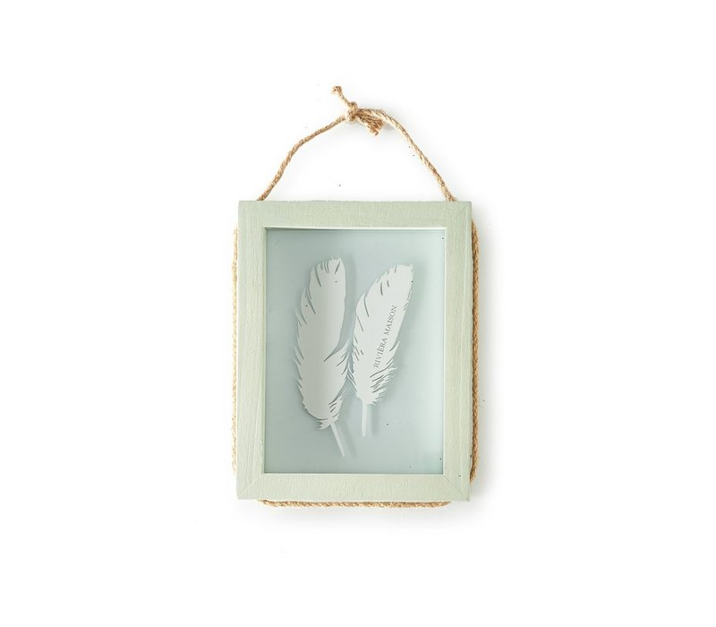 Pretty Feather Photo Frame M
