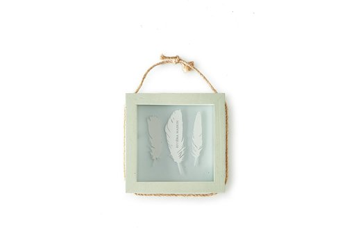 Homestore Pretty Feather Photo Frame Square