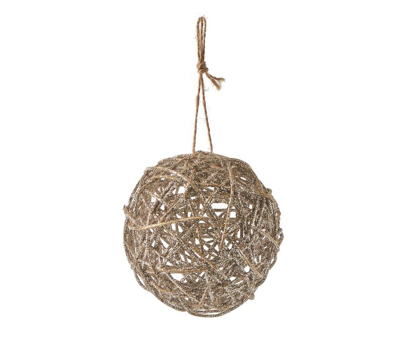 Fancy Forest Decoration Ball Dia 12