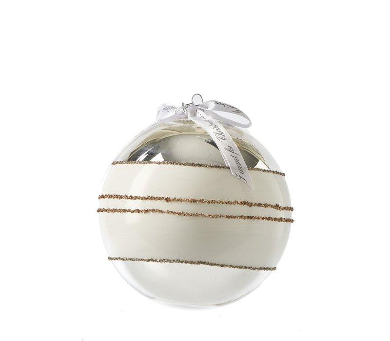 Classic Ornament silver Dia 15