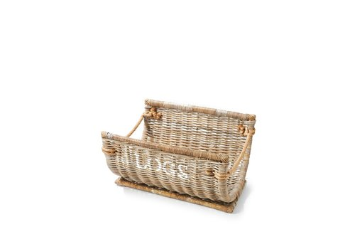Homestore Log Wood Basket