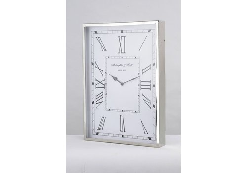 Homestore Durrington Nickle Wall Clock