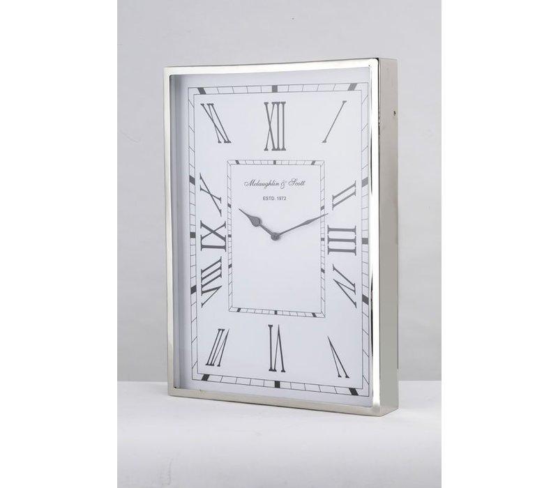 Durrington Nickle Wall Clock