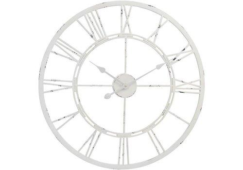 Homestore Antique Cream Skeleton Wall Clock