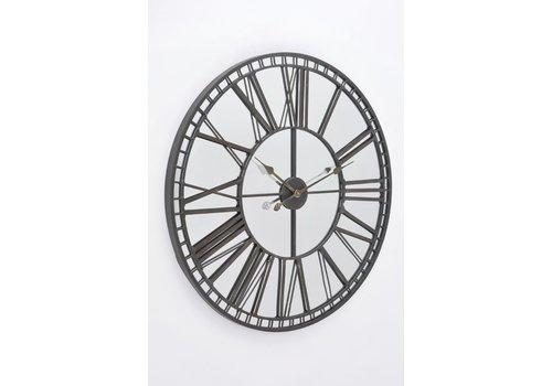 Homestore Skeleton Mirror Wall Clock