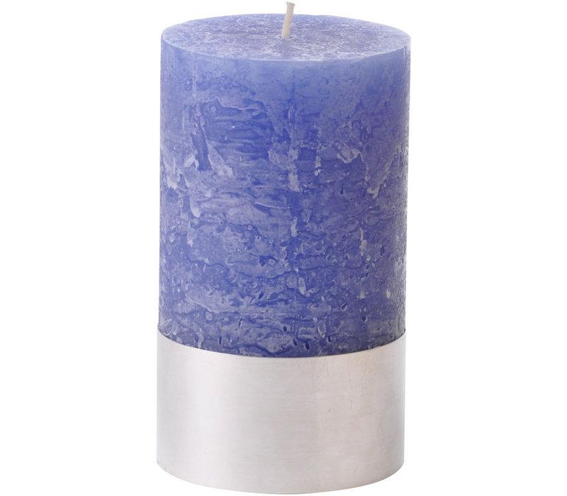 Libra Dutch Blue Rustica Pillar Candle 7x12cm