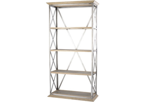 Homestore Homestead Cross Frame Tiered Shelving Unit
