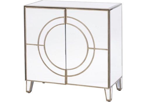 Homestore Claridge Circle Link 2 Door Cabinet