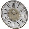 Homestore Vienna Antique Gold Round Mirrored Wall Clock
