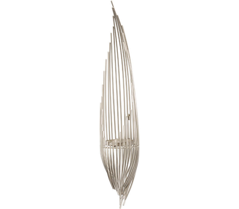 Chrome Plated Strand Wall Sconce