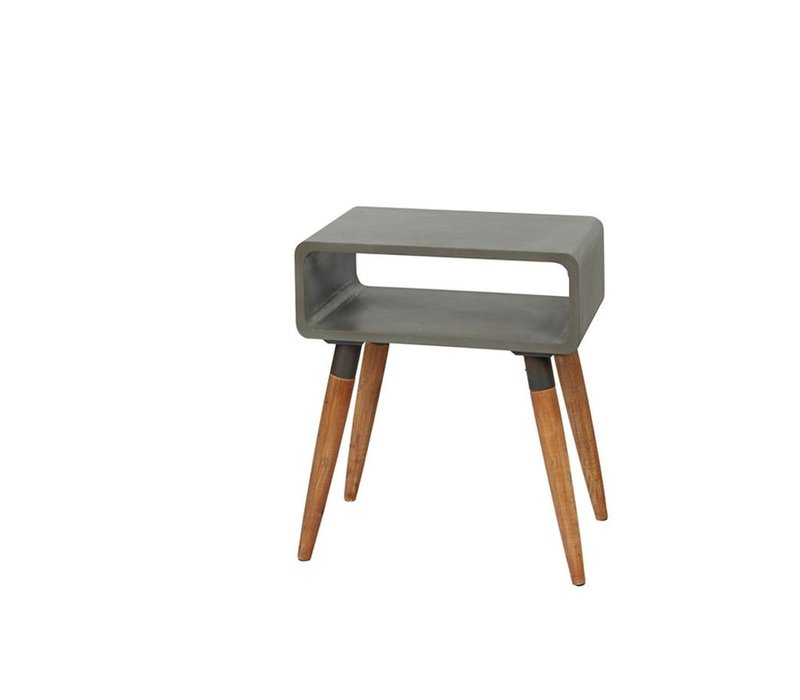 ATRIUM console in concrete &  wood - Small