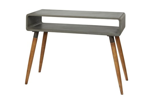 Homestore ATRIUM console in concrete &  wood - Large