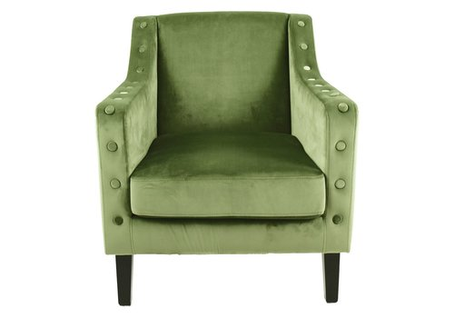 Homestore Almo Armchair in Olive Green