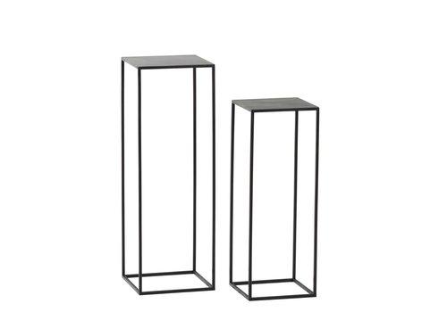Homestore Zen Set of 2 Stands H68/82cm