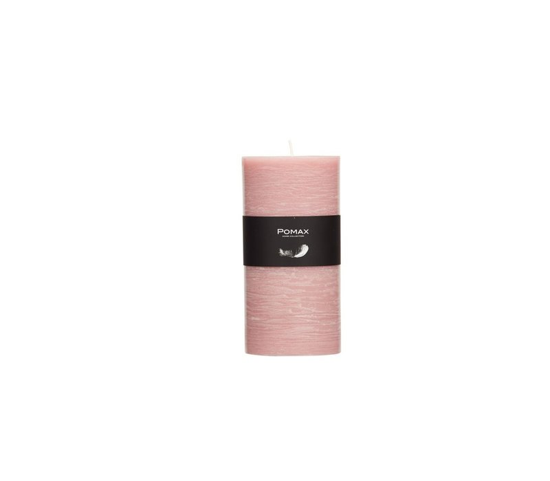 Candle in Powder Pink