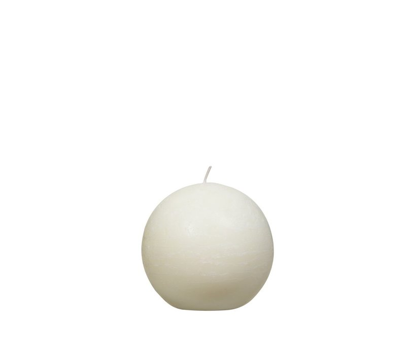 Candle Ball in Ivory D9cm